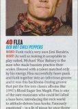 Flea v rebríčku najlepších rockových hviezd