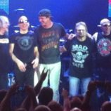 Bubeník Chad Smith navštívil svoju kapelu Chickenfoot na turné