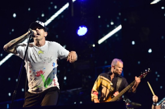 Red Hot Chili Peppers to pořádně rozjeli