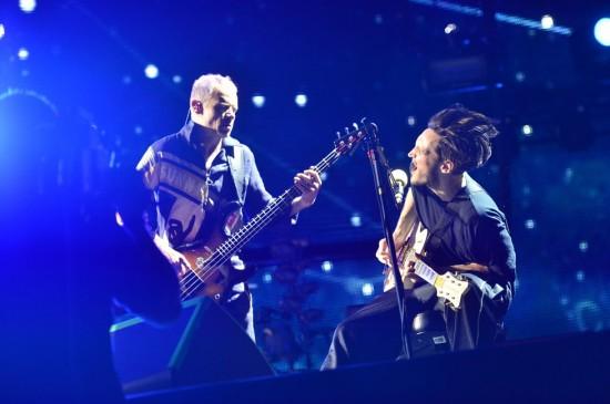 Red Hot Chili Peppers umí udělat pořádnou show
