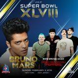 Red Hot Chili Peppers sa pripoja k Brunovi Marsovi v polčasovej prestávke Super Bowlu