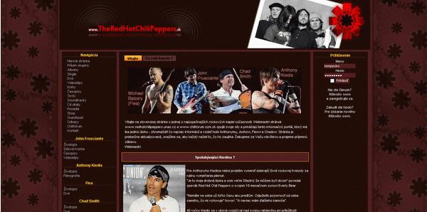 V roku 2009 webová stránka bola vytvorená v redakčnom systéme php-fusion pre lepšie spravovanie stránky