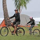 Anthony dovolenkuje na Hawai