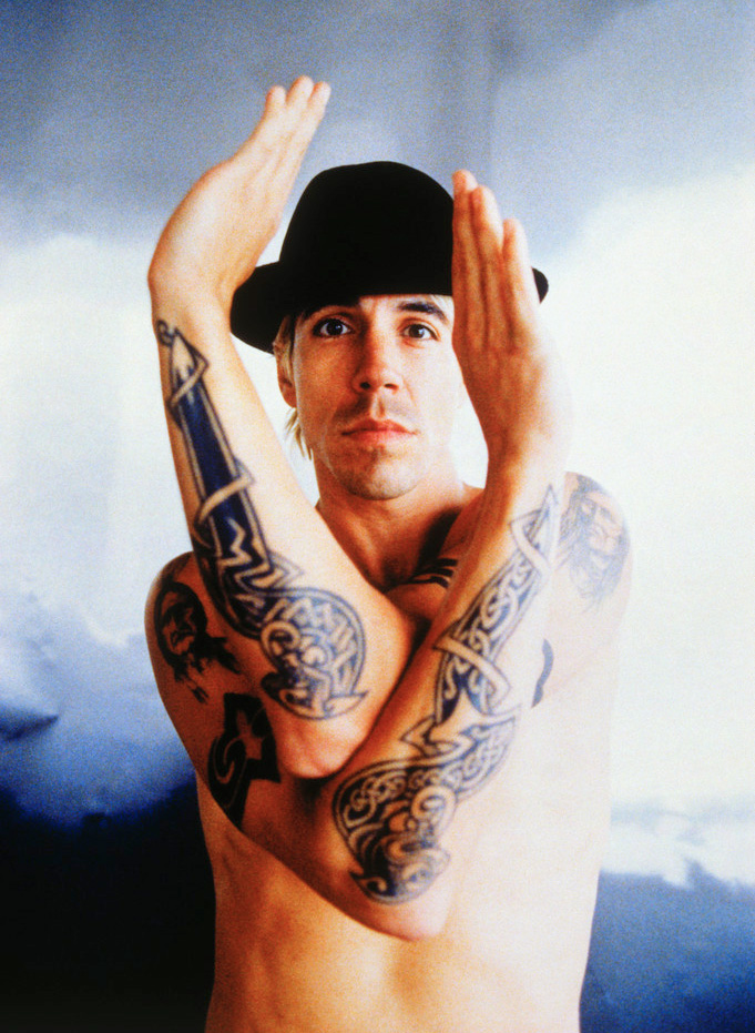 Anthony Kiedis Tattoos