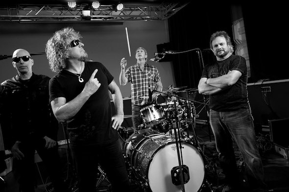 Chickenfoot - Publicity Image Standard BW - photo credit Jon Hill