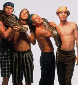 25 Jun 1992 --- Red Hot Chili Peppers --- Image by © Mark Seliger/CORBIS OUTLINE