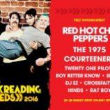 Red Hot Chili Peppers hlavnou kapelou anglických festivalov Reading & Leeds v 2016!