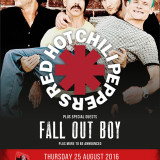 Red Hot Chili Peppers hlavnou kapelou  Tennants Vital festivalu