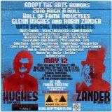 Chad Smith sa zúčastní Adopt the Arts 12.mája
