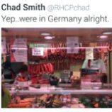Red Hot Chili Peppers sú už v Nemecku